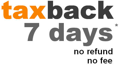 tax back 7 days